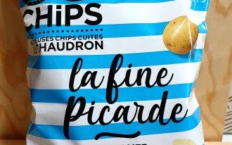 Le Vignoble - Chips fines sel de mer 125G So chips picarde