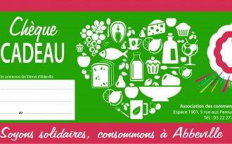 LES VITRINES D'ABBEVILLE - CHÈQUE CADEAU