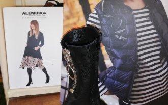 Élite chaussures - Demi bottes noir fermeture