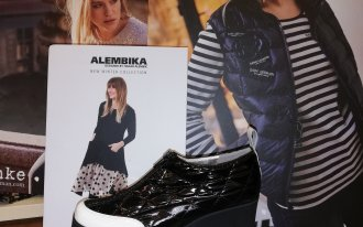 Élite chaussures - Azuree matelassé vernis