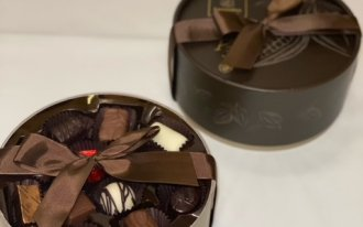 Leonidas - La boîte ronde brune 350g