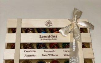 Leonidas - La caissette de liqueurs pures 240g